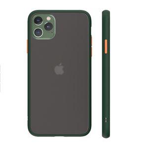 Матовый сотовый телефон чехлы для iPhone 13 12 11 8 7 6S PLUS X XS MAX XR CLEAR CARE HARD Абонентный прозрачный корпус крышки доспеха в OPP Bag