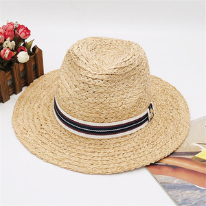 Little Bees Hats Caps Men Womens Wide Brim Casual Hats Summer Beach Hat Brand Cap New Arrived Hot Sale Grass Hat Top High Quality 2020 new