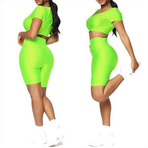 Fashion Womens Gym Reflective Bike Elastic High Waist Athletic Leggings Pants Casual Trouser Female Sports Clothing