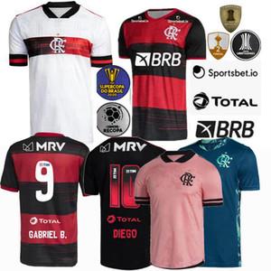 2020 2021 CR Flamengo Maillots de football Flamengo Gerson GABRIEL B. DIEGO DE ARRASCAETA 20 21 maison loin 3ème maillot de football S-4XL
