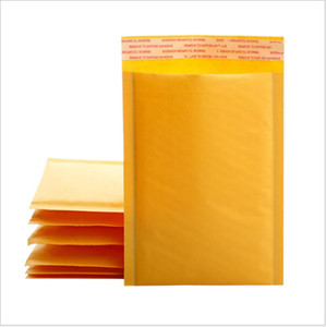 110*130mm Kraft Paper Bubble Envelopes Bags Bubble Mailing Bag Mailers Padded Shipping Envelope Business Supplies free shipping 20