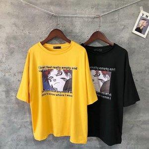New Harajuku Naruto Gaara Tshirt Masculino Streetwear Fashion Anime Men's T Shirt Historieta Unisex Tops Funny Japanese T Shirt Boys Men Jllxkj