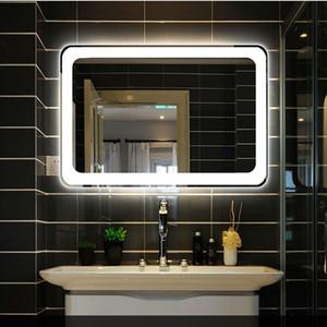 Bathroom mirror lamp hotel makeup mirror wall light mirror front light wall lamp bathroom led wall lamp rectangular