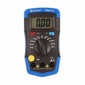 DM6013L Portable Handheld Digital Capacitance Capacitor Meter 1999 Counts Tester 200pF~20mF Data Hold Backlight Y81z#