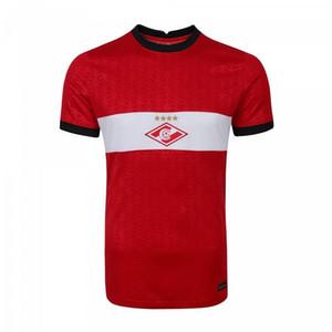 20 21 Spartak Moscow Soccer Jersey home away 10 PROMES Bakaev 47 Zobnin 20 Schürrle Dzhikiya Til Ponce Customize Football Shirt CALCIO HOT