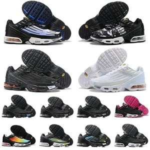 New Tuned Mercuial TN Plus III 3 OG Ultra Mens Running Shoes Male Desig Sports Run Trainers Black White Spider Women Sneakers CU471