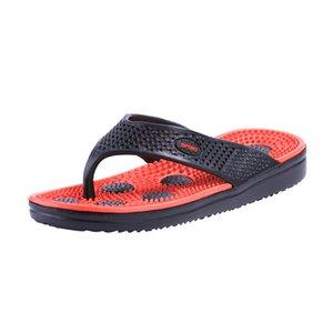 Summer new style sandals mens EVA flip flops home massage slippers leisure flip flops beach shoes wholesale