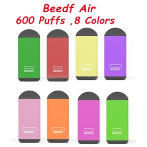 Beedf Air Disposable Pod Kit 2.7ml Prefilled 600 Puff 450mAh Vape Pen Stick Bar Empty Cartridge System Device Genuine