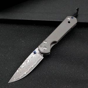 Chris Reeve Sebenza 21 Damas lame en titane poignée tactique couteau pliant extérieur Couteau de chasse Camping survie EDC Pocket UT85