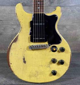 One Pice Body, One Piece Neck, Guitarre personalizzate per chitarra elettrica invecchiata