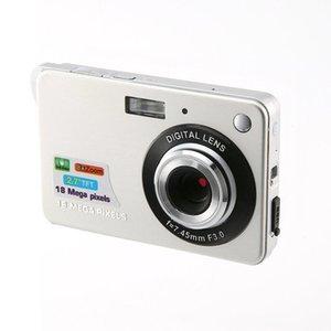 2.7 بوصة 18MP 720P الأطفال المحمولة البسيطة الرقمية 8XZoom TFT LCD شاشة كاميرة فيديو المضادة للاهتزاز صورة الكاميرا أطفال هدية