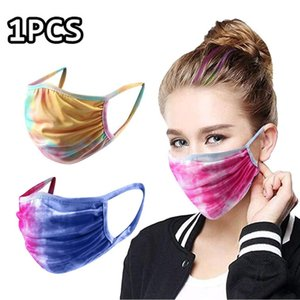 Respirator Unisex Anti Pollution Washable Reusable Cycling 3d Mask Travel Masks Asthma Mouth Dust Proof Face Pm25 Tie Dye Funny sqcGod