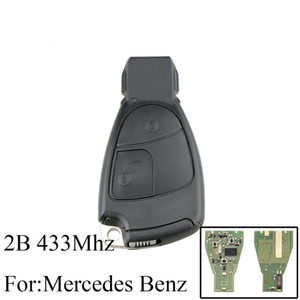 2 Buttons remote control key 433Mhz