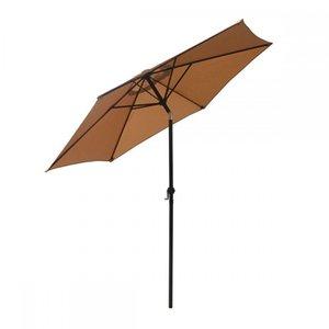 Новый патио зонтик 9 'алюминиевый открытый рынок внутренних дворик зонтик наклон с кривым