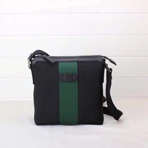 calidad superior de la bolsa bolsa de mensajero de lujo de diseño de producto artificial avanzada Material lona pequeña bolsa de mensajero libre de la carga 038