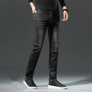 Новый Designe мужские джинсовые Осень Роскошные мужские джинсы тонкий дизайн-ноги модные джинсы мотоциклетные брюки карандаш брюки мужчины женщина США ЕС размер 28-40