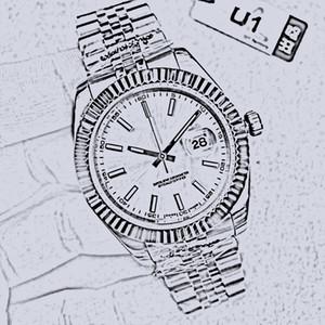 U1 Fabrik M126234 Just Serie Kollektion Cal.2813 Automatische Bewegung Saphhire 40mm Datum hochwertiger Lebensdauer Wasserdichte Herren Armbanduhr