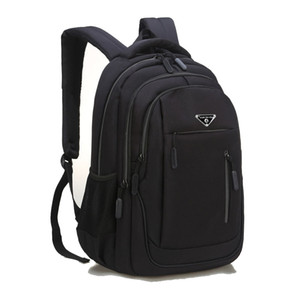 Mochila de los hombres de Suutoop de gran capacidad para hombre Laptop 15.6 Oxford Bolsas de escuela multifuncionales sólidas de Oxford Travel Schoolbag Back Pack para hombre