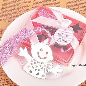 """Счастливый мальчик Bookmark boxed с тегом лента для bridal детская душ крещение свадьбы день рождения """"wa1413"""