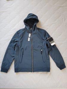 뜨거운 판매 3 색 20ss 409227 라이트 소프트 쉘 -R 재킷 Topstoney 메쉬 소프트 쉘 자켓 크기 : S-3XL
