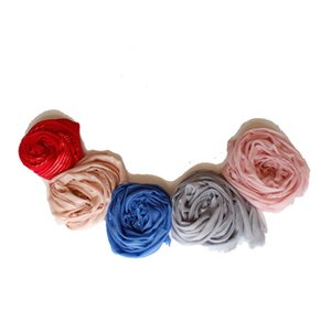 2018 the new high-end fashion plus knitted wool striped cashmere scarf candy color multifunctional sunscreen women's shawl