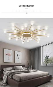 Led Ceiling Chandelier For Living Room Bedroom Home light Ball Glass Shade Modern Led Lamp Lighting Chandeliers for Living room