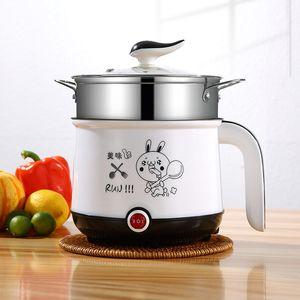 Household Rice Cooker elettrico mini multi-funzione Hot Pot scaldabiberon portatile piccolo potere antiaderente Rice Cooker elettrico