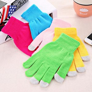 High quality Touch Screen Gloves Men Women Winter Warm Mittens Female Winter Full Finger Stretch Comfortable Breathable Warm Glove CCE2004