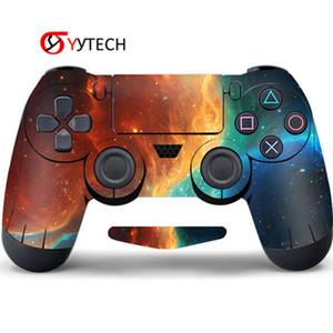 Capa PVC SYYTECH de fornecimento preço Handle PVC Decal para PlayStation 4 Etiqueta da etiqueta da pele para PS4 Controlador