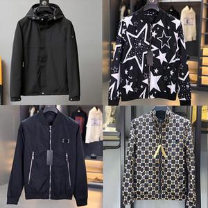 NUOVO ricamo uomini del cappotto del rivestimento svago dell'uomo lettere di affari di marca Hip Hop Streetwear Uomini vestiti giacca cappotto invernale Sping M-3XL