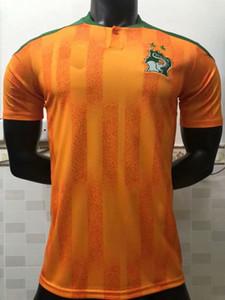 2020 2021 코트 디부 아르 축구 유니폼 이집트 M.SALAH 모로코 홈 원정 유니폼 흰색 (20) (21) 드록바 축구 국가 대표팀 축구 셔츠 유니폼