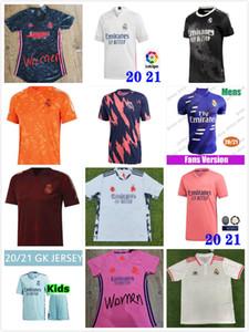 kids 19 20 21 Real Madrid soccer jerseys short Home Away Third soccer kit HAZARD ZIDANE BENZEMA football shirt Camiseta De Futbol Kids sets