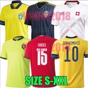 2020 2021 스위스 축구 유니폼 스웨덴 스위스 (20 개) (21) 체코 SOW 베라미 EMBOLO SEFEROVIC 이브라히모비치 축구 셔츠 유니폼