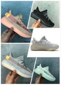 2019 New Top Running Shoes Crianças Preto estáticos Athletic Shoes Outdoor Sports Baby Boy menina Kanye West Beluga 2,0 Sneakers