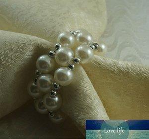white wedding ring napkin, wholesale decoration napkin ring, bulk napkin holder
