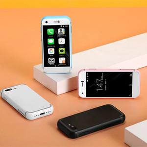 2 ADET Orijinal Soya 7 S Cep Telefonu Android Mini Akıllı Telefonlar 5.0MP Kameralar Çift SIM Dört Çekirdekli Cep Telefonları Küçük 3G Dokunmatik Ekran Akıllı Telefonlar