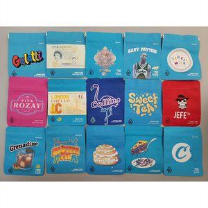 Cereal Gelatti Empty Bags California SF 3.5g Mylar White Runtz MINNTZ London Pound Touch Skin Childproof Gary Payton Cookies Packaging Bag