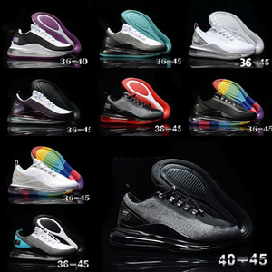 2020 Newest Men Women shoes training Triple Black white orange sports shoe Outdoor sneakers casual Trainers shoes size 36-45