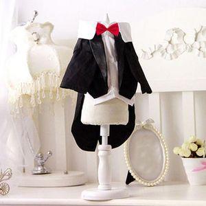 Männlich Junge Hochzeit für Tuxedo Kostüm Kitten Kleid Tzu Partei Shih-Dackel-Haustier-Klagen Welpen Kleidung Hund Katze Und bbyaZe yh_pack