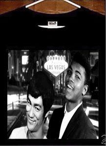 Muhammad Ali T-shirt Muhammad Ali Bruce Lee T-shirt