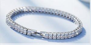 925 pure Silver bracelet Classics Fashion Jewelry romantic gift for girl Mosang diamond Bracele freeshipping