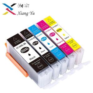 5 (PCS) PGI-550 CLI-551 XL Compatible Ink Cartridge pgi550 pgi 550 cli551 for Canon PIXMA IP7250 MX925 MG5450 5550 6450 5650