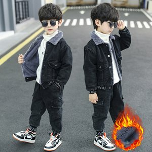 Outfit Kids clothes boys tracksuits fashion Autumn Winter Cute clothes top and pants Boys warm winter clothes