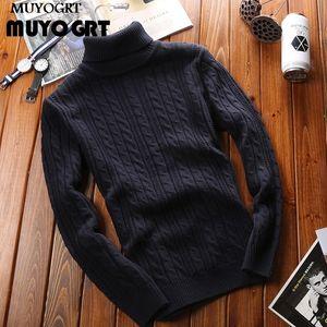 Muyogrt Herfst Hot Coltrui Men Fashion Effects Four Footers 2020 повседневный двойной воротник стройный Trui Jumper одежда