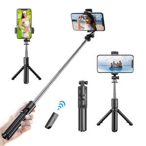 Bluetooth Беспроводной Selfie Stick Tripod Складные штатив Monopods Универсальный для смартфонов Для Спортивной Действия Камера