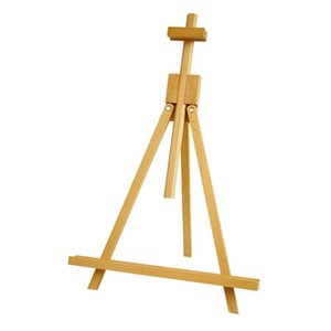 Conda Adjustable 45 to 80cm Wodden Easels Medium Portable Beech Wood A-Frame Tabletop Easel Advertisement Exhibition Y200428