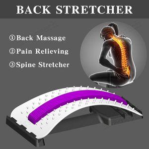 Geri Stretch Masaj Ekipmanları Sihirli Geri Sedye Fitnes Bel Destek Gevşeme Omurga Ağrı Kesici Tedavisi Sağlık