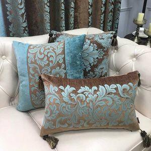HAPIBEIHPB American Cushion Cover Andrea Pillowcase chenille Waist Throw Pillows Cover joint Throw Pillow Car Home Decoration T200624