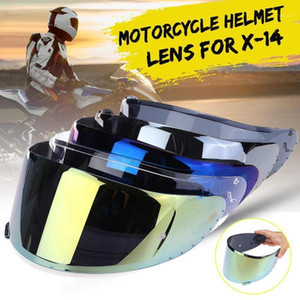 Helmet Lens Visor Motocross Helmet Visor Motorcycle Full Face Shied Lens Glasses For X14 X-14 RF-1200 RF-SR1