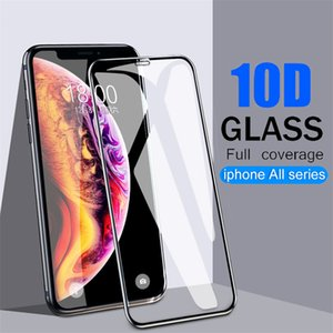 10D Full Coverage Screen Protector for iPhone 12 mini 12 Pro Max XR XS MAX 9H Horse Full Screen Protector Tempered Glass